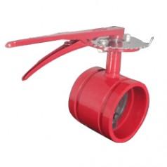 沟槽蝶阀结构紧凑、体积小、重量轻、操作灵活、维修方便