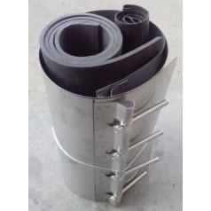 塑钢缠绕管不锈钢卡箍