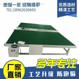 厂家直销批发皮带输送机小型皮带流水线PVC带式输送机 食品皮带机