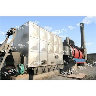 低温卧式烟道气铁钒渣烘干机