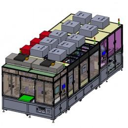 深圳金诺GN101 全自动2D、2.5D、3D手机玻璃盖板检测机 自动检测机