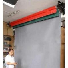 演播室抠像幕布蓝绿电动抠像幕布