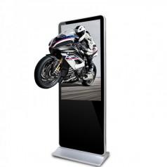 55寸立式裸眼3D液晶显示广告机圆角广告机4S多媒体展会广告机