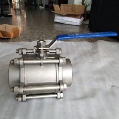 Q61F-40P/25P/16P不锈钢三片式焊接球阀