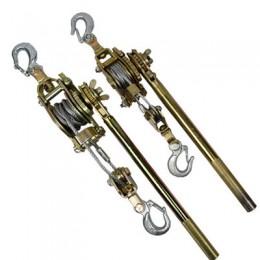 日式紧线器, 双钩紧线器 ,双棘轮式紧线器 ,钢绞线卡线器