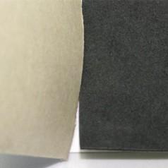 EVA发泡背胶,单面背胶黑色EVA泡棉加纸,包装首饰盒用背胶EVA