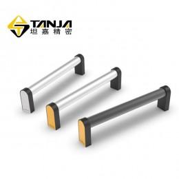 硬质铝合金工业拉手 机械把手 亚光饰面机床设备把手