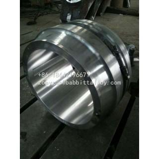 汽轮机轴瓦 锡基合金锻造加工 出口品质 汽轮机轴瓦厂家