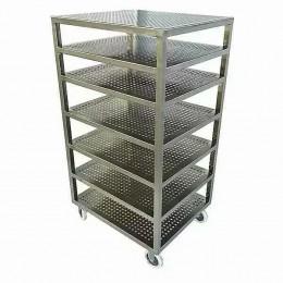 苏州太仓上海厂家生产不锈钢千层架铝合金工作台皮带流水线