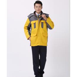 工人棉服-冬季企业工作棉服加厚厂服