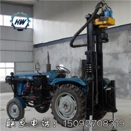 拖拉机气动水井钻机  全液压气动水井钻机 高效率快速打井机