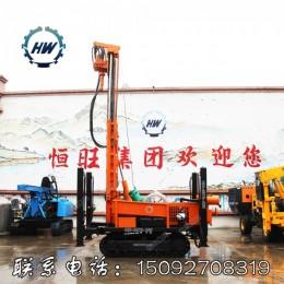 履带式气动潜孔钻机 200米全液压潜孔钻机 气动水井钻机厂家