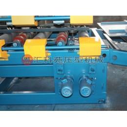 汇科苑冷弯机械生产岩棉泡沫板一体机