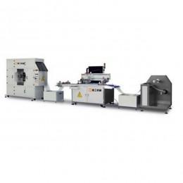 厂家直销高精度热转印膜丝网印刷机