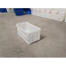 河南挂面筐塑料筐600*305*245塑料周转箱 长方形周转框