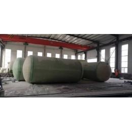 玻璃钢化粪池1-100立方污水处理设备家用成品化粪池