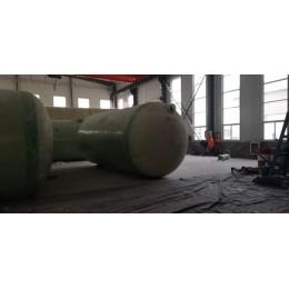 玻璃钢消防水罐 成品玻璃钢化粪池100立方/50m3三格式化粪池储罐