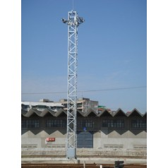 信丰公司直销独杆升降式照明灯塔制作安装