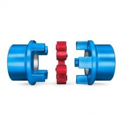 FLENDER刚柔联轴器,钳口式,挠性,销钉和套筒N-BIPEX系列