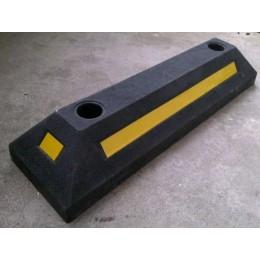 橡胶车轮定位器生产优质橡胶定位器批发专业停车场工程