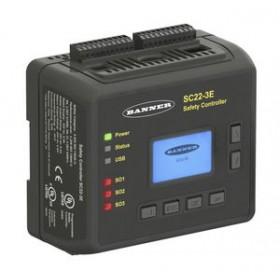 美国BANNER安全监控继电器SC22-3E系列