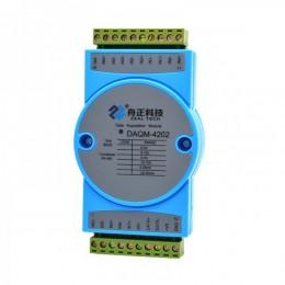 西安舟正科技485总线8通道模拟量输入模块DAQM-4202
