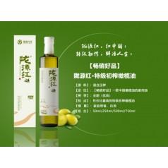 北纬33度陇源红特级初榨橄榄油500ml陇南橄榄油