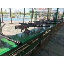 合肥安徽大型游乐气炮枪厂家直供答案枪游乐设备