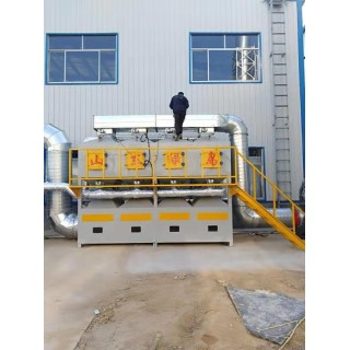 山东绿岛 催化燃烧设备   VOCs催化燃烧设备  价格合理