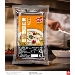 招牌金汤酸菜鱼酱料