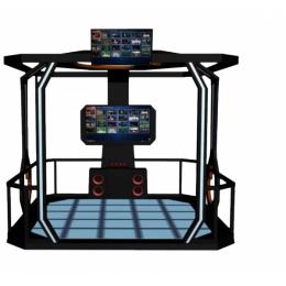 VR体感互动空间站vr大型安全教育体验设备vr模拟体验馆