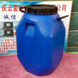 50L化工桶吹塑包装大口径塑料桶