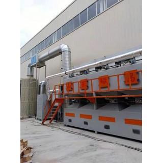 绿岛环保 催化燃烧设备 活性炭吸附脱附催化燃烧设备 厂家直销