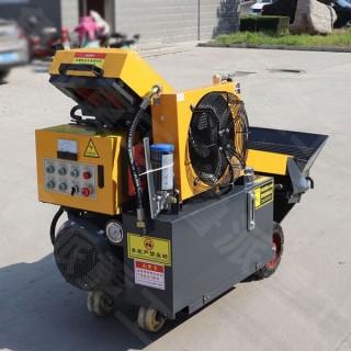 山东济宁厂家直销构造柱浇筑泵 斜式砂浆混凝土输送泵