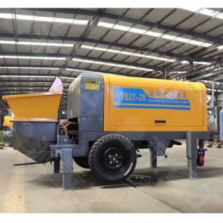 大骨料搅拌输送泵 40型地泵适用范围 细石砂浆输送泵