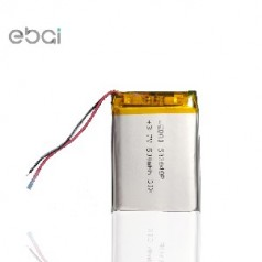 厂家直销聚合物锂电池603040 600mah 蓝牙音箱 美容仪 铲皮机电池