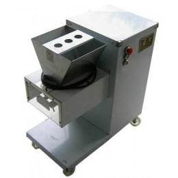 猪皮切条机 猪肉皮切块机 小型切肉机图片