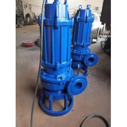 NSQ潜水渣浆泵1400转4-90KW耐腐蚀可配搅拌器清淤泵