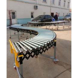 动力滚筒伸缩线动力伸缩滚筒输送机优耐德科技直供