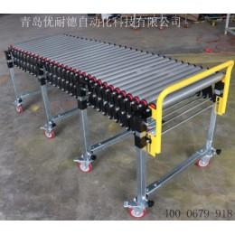 600宽无动力滚筒伸缩线可伸缩式装卸货神器专业厂家直供