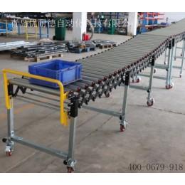无动力滚筒输送线600mm宽的无动力伸缩输送线