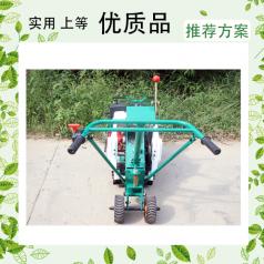 城市绿化搬运工就是我们稻香手推草坪移植机