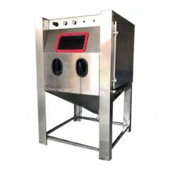 湿式手动喷砂机黄金表面处理喷砂机高精度磨砂环保喷砂机