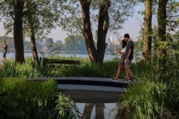全球首个3D打印的FRP人行天桥为圆形复合材料铺平了道路