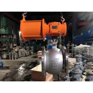供应商气动不锈钢法兰球阀-V型调节阀高端生产商