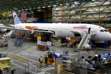 波音发现787飞机有新问题