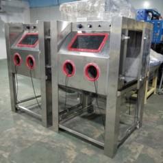 五金件喷砂机 湿式喷砂机 手动去除氧化皮 除锈翻新