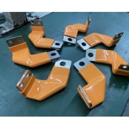 五金件包胶 铜排PVC浸塑绝缘 PVC浸胶加工厂家