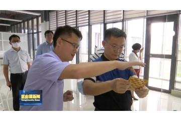 万卓培副市长走访镭泰激光